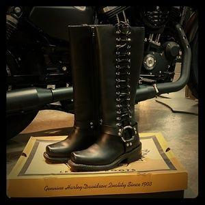 """Genuine Harley-Davidson """"Sidewinder"""" Boots"""